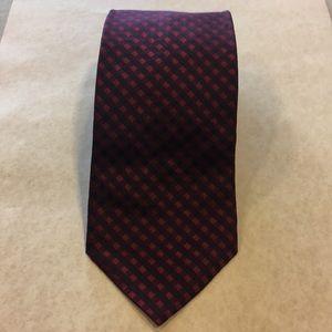 SALVATORE FERRAGAMO 100% Silk Necktie ITALY Luxury